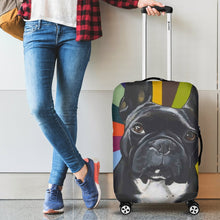 Colorful Frenchie - Luggage Covers