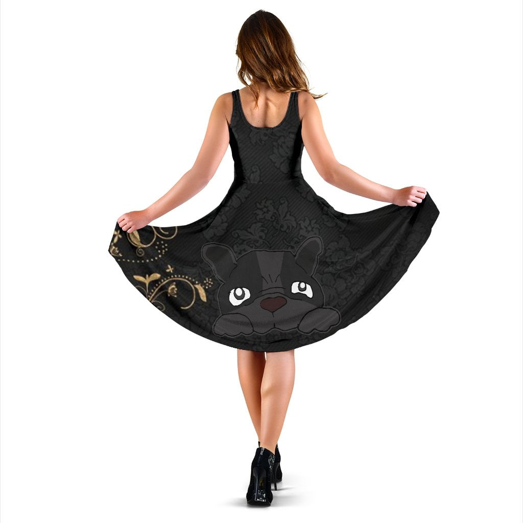 Zeus - Women Dress - Frenchie Bulldog Shop