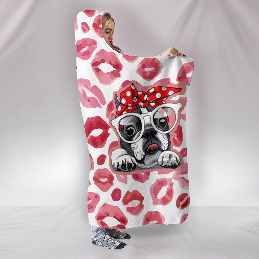 Ollie - Hooded Blanket - Frenchie Bulldog Shop
