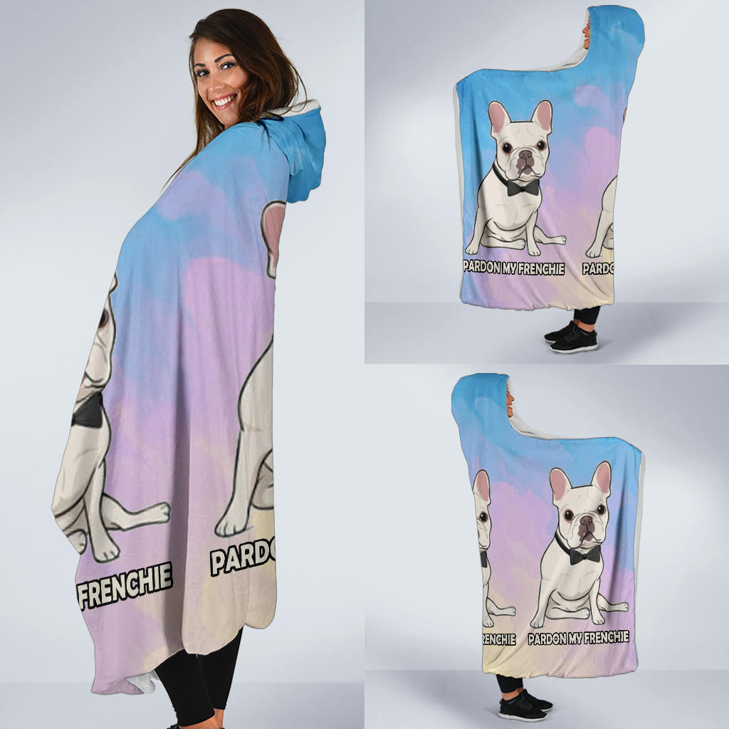 Milo - Hooded Blanket - Frenchie Bulldog Shop