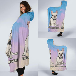 Pardon my Frenchie - French Bulldog Hooded Blanket - frenchie Shop