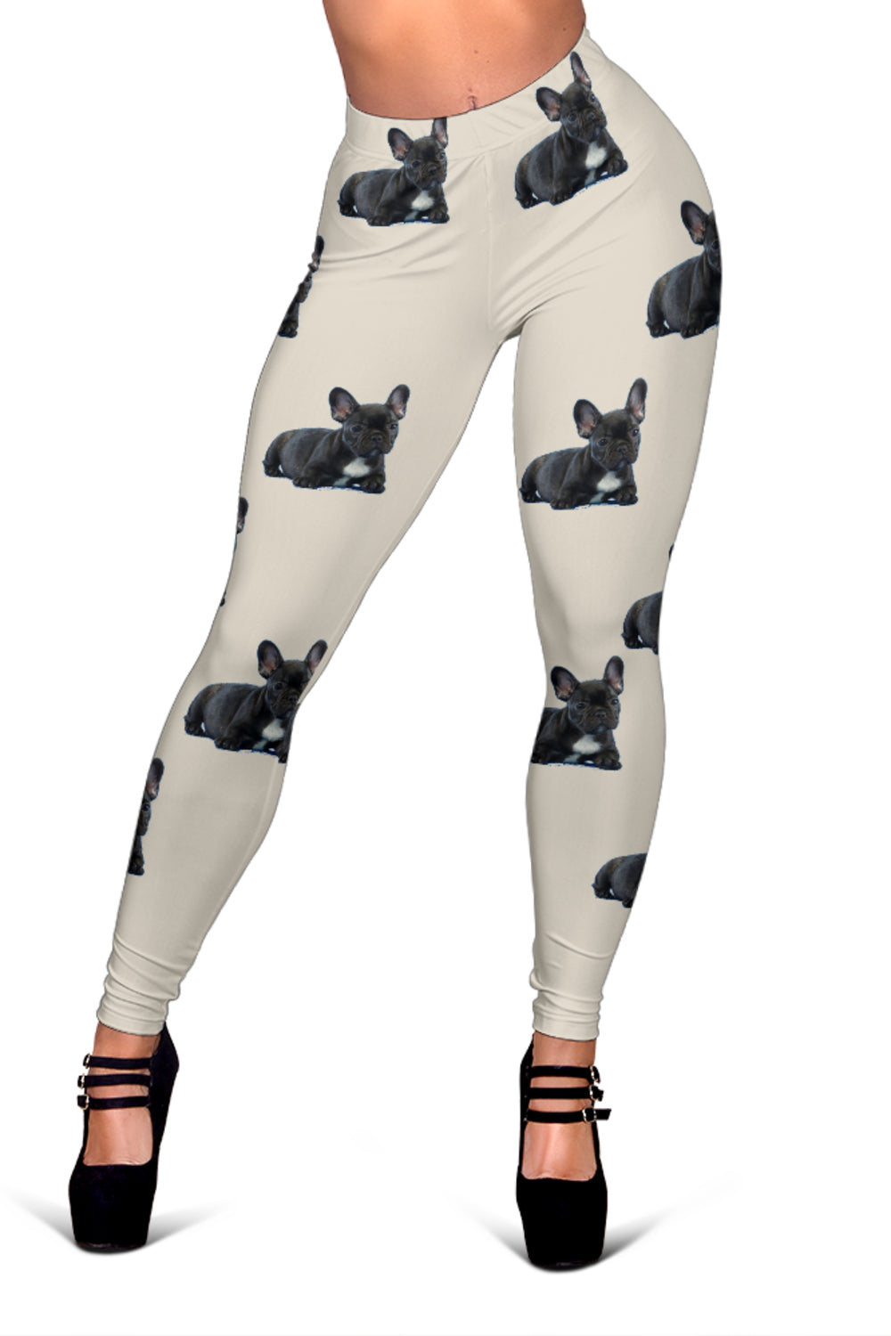 Custom Leggings - Frenchie Bulldog Shop