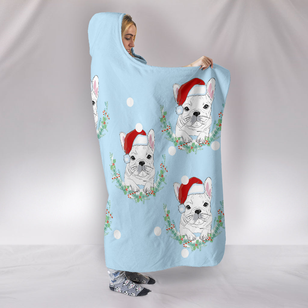Archie - Hooded Blanket - Frenchie Bulldog Shop