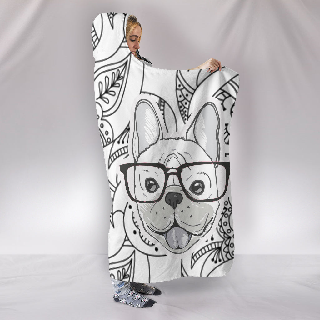 Max - Hooded Blanket - Frenchie Bulldog Shop