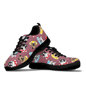 Bella French Bulldog Sneakers - Frenchie Bulldog Shop
