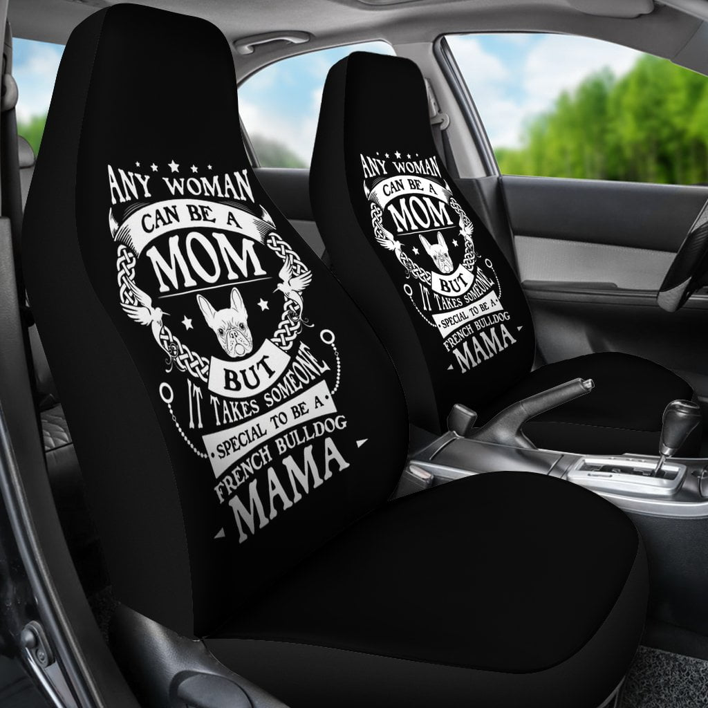 Frenchie MAMA - Car Seat covers - Frenchie Bulldog Shop