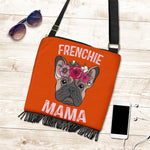 Mama Frenchie - French Bulldog Boho Handbag - Frenchie Bulldog Shop
