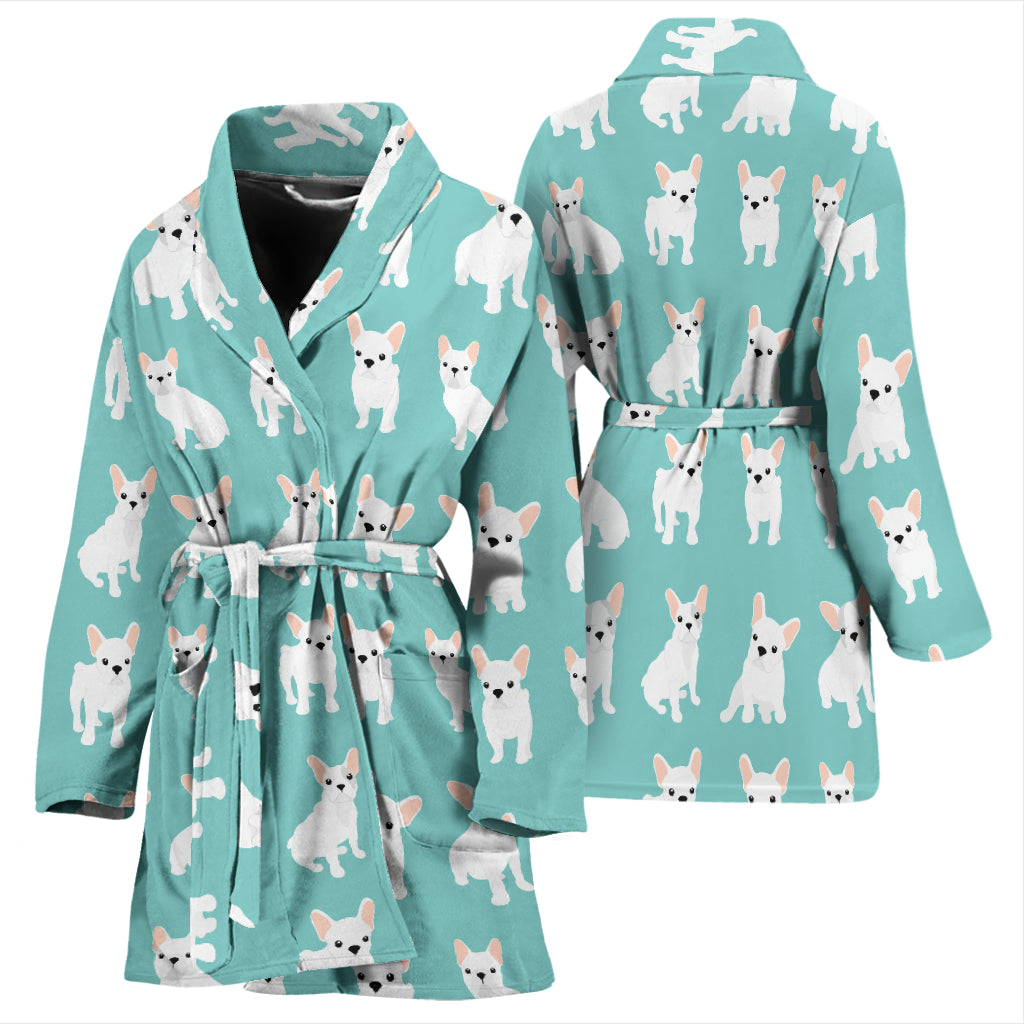 Daisy - Bathrobe for women - Frenchie Bulldog Shop