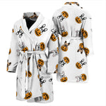Funny Halloween Frenchie - French Bulldog Bath Robe Men - frenchie Shop