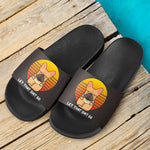 Funny Yoga Frenchie - French Bulldog Slide Sandals - frenchie Shop
