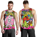 Funny Vandalism Frenchie - French Bulldog Tank Top Men - frenchie Shop