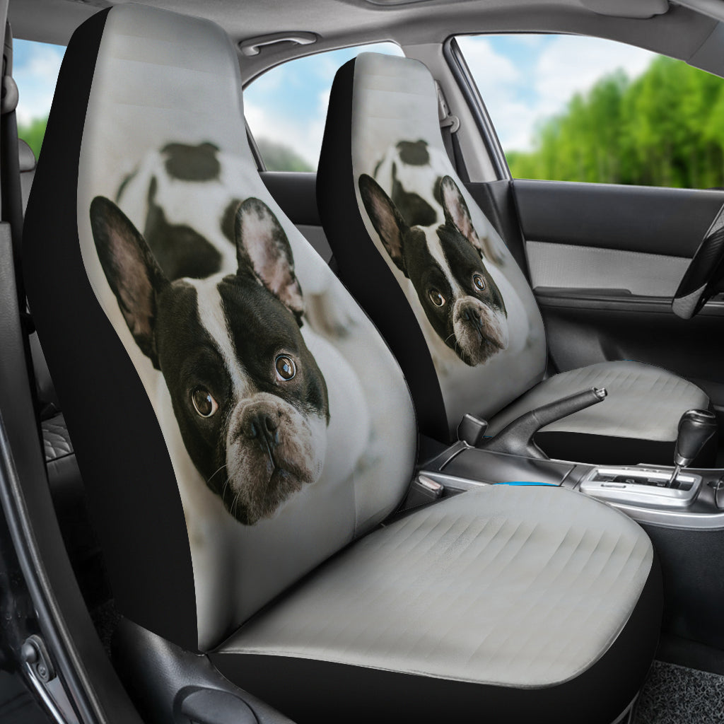 Custom Car Seat Covers - frenchie Shop
