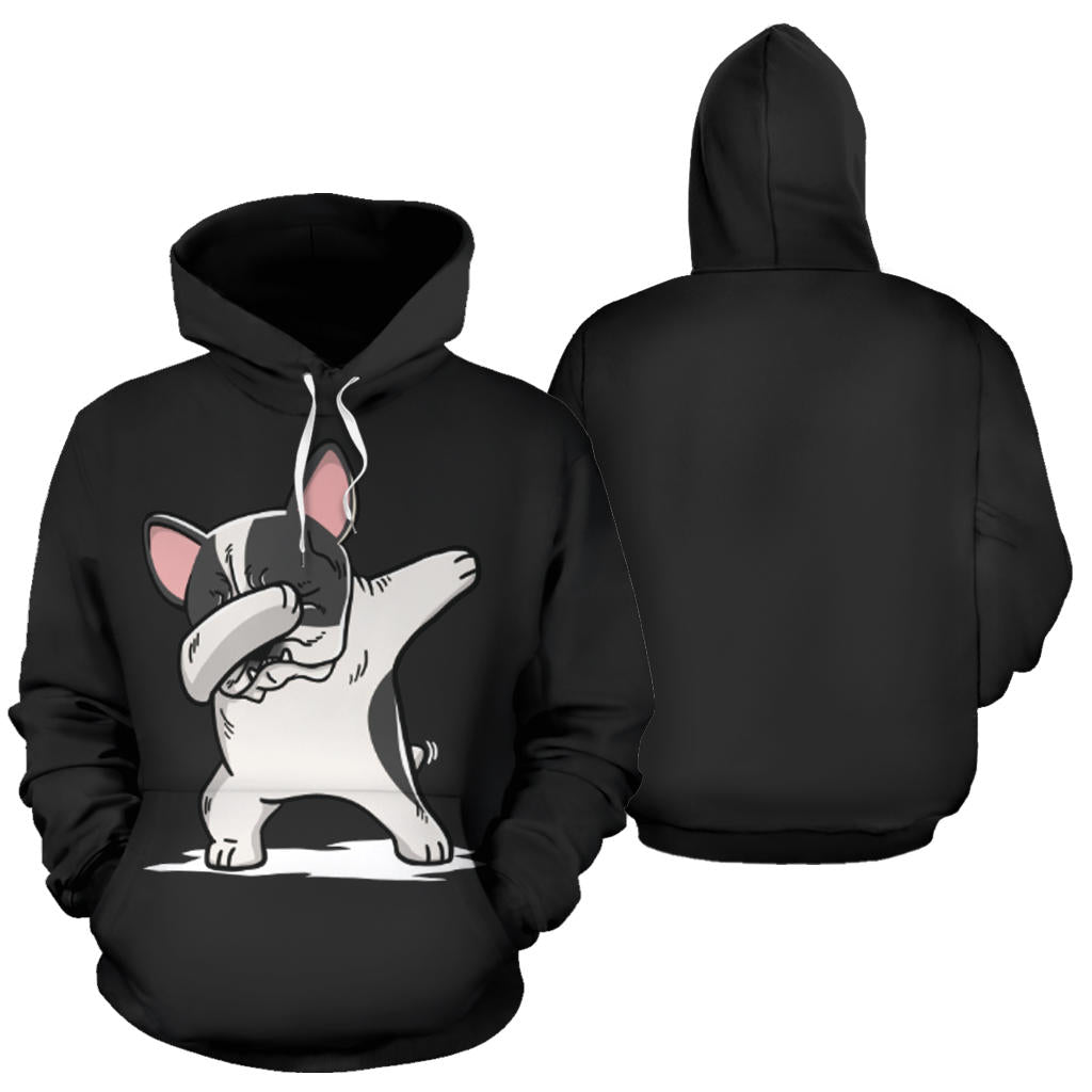 Dabbing Frenchie - French Bulldog Hoodie - frenchie Shop