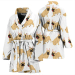 Oscar - Bathrobe for women - Frenchie Bulldog Shop