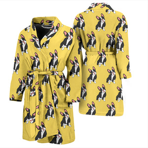Alfie - Bathrobe Men - Frenchie Bulldog Shop