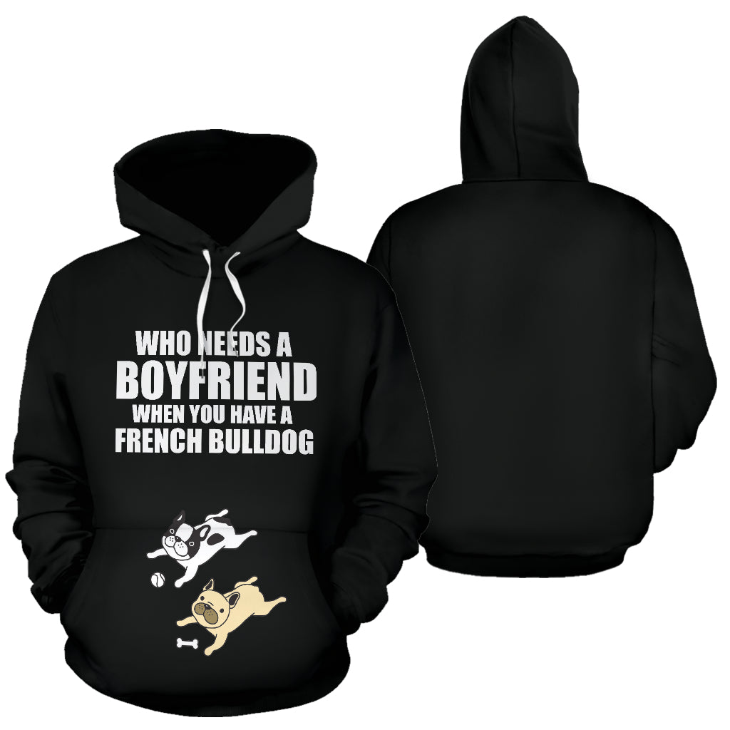 Ace French Bulldog Hoodie - Frenchie Bulldog Shop