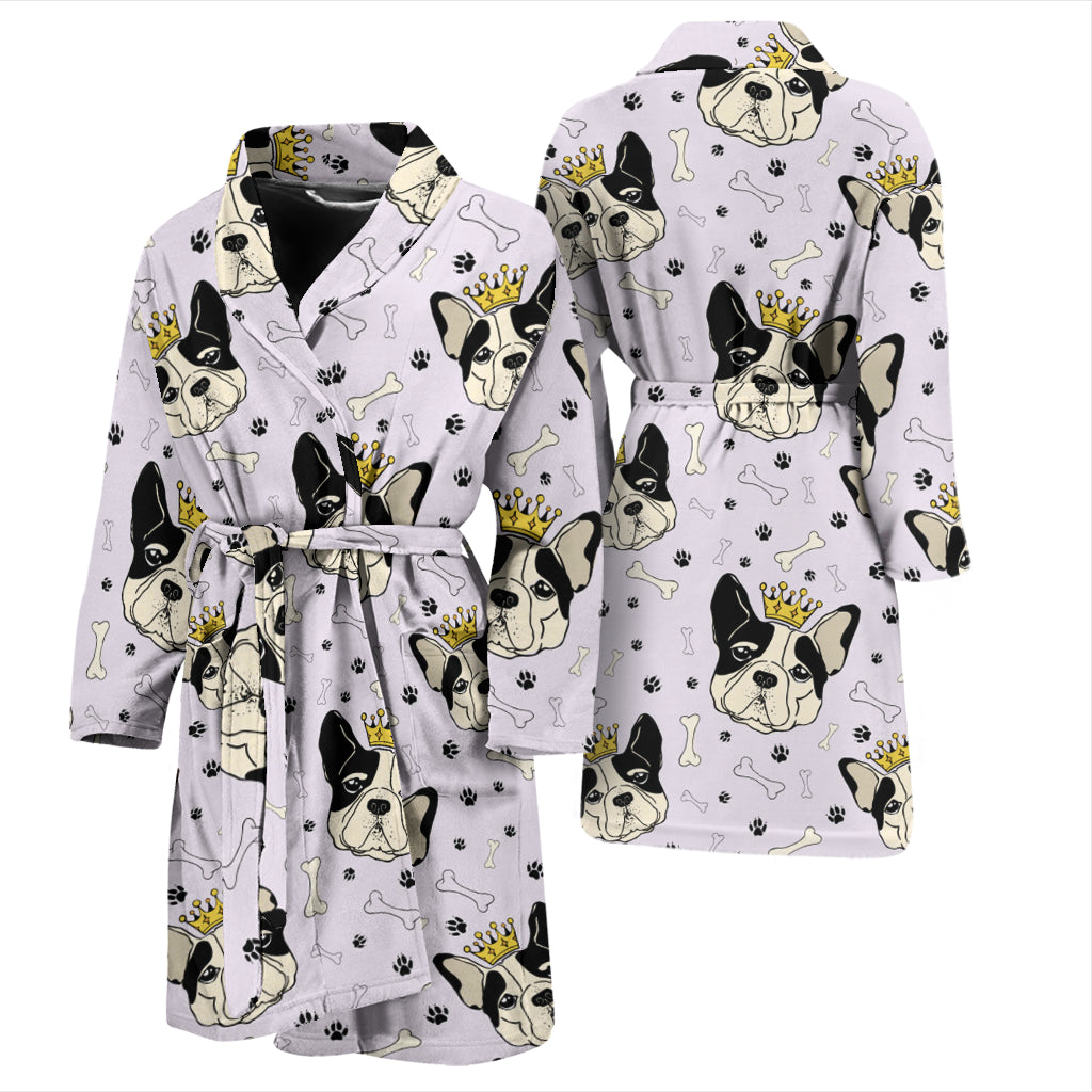 Hugo - Bathrobe Men - Frenchie Bulldog Shop