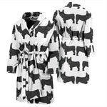 Leo - Bathrobe Men - Frenchie Bulldog Shop