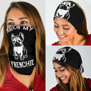 Pardon My Frenchie - French Bulldog Bandana