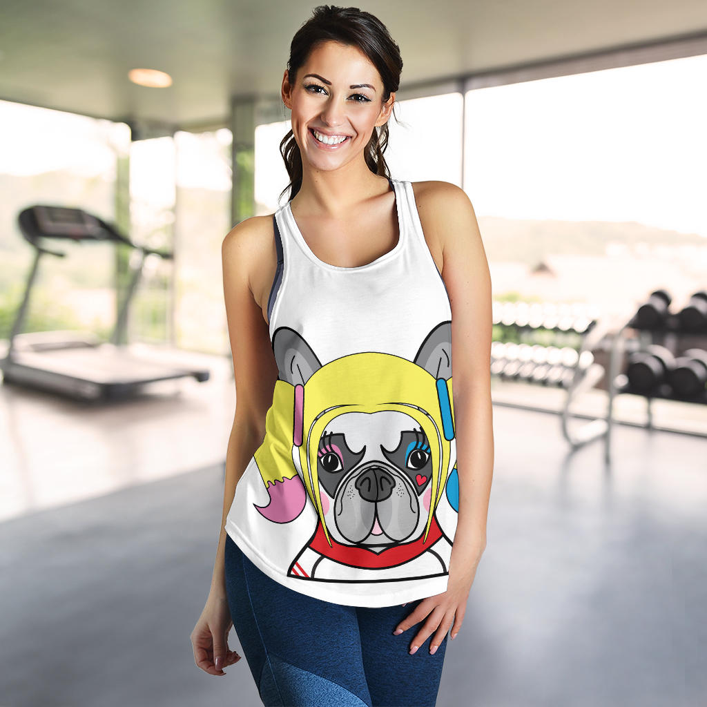 Funny Harley Frenchie - French Bulldog Tank Top Women - frenchie Shop
