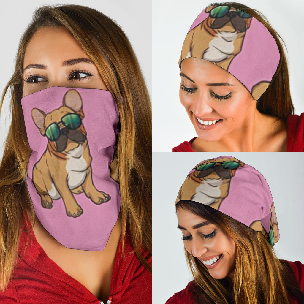 Summer Cool Frenchie - French Bulldog Bandana - Frenchie Bulldog Shop
