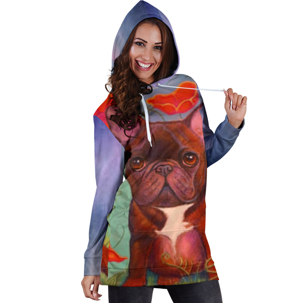 Buddy - Women Hoodies - Frenchie Bulldog Shop