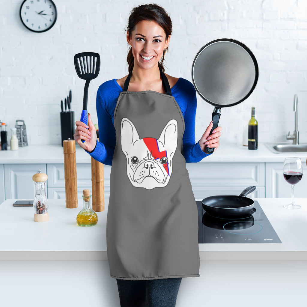 Parody God of Frenchie - French Bulldog Women Apron - frenchie Shop