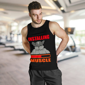 INSTALLING MUSCLE  - TANK TOP FOR MEN - frenchie Shop