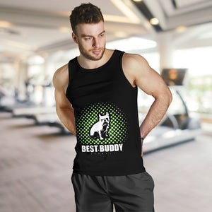 Best Buddy - Tank top for men - frenchie Shop