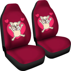 French Bulldog Cute with Heart Valentines Day - frenchie Shop