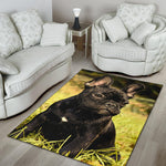 Lovely Frenchie - Area Rug - Frenchie Bulldog Shop