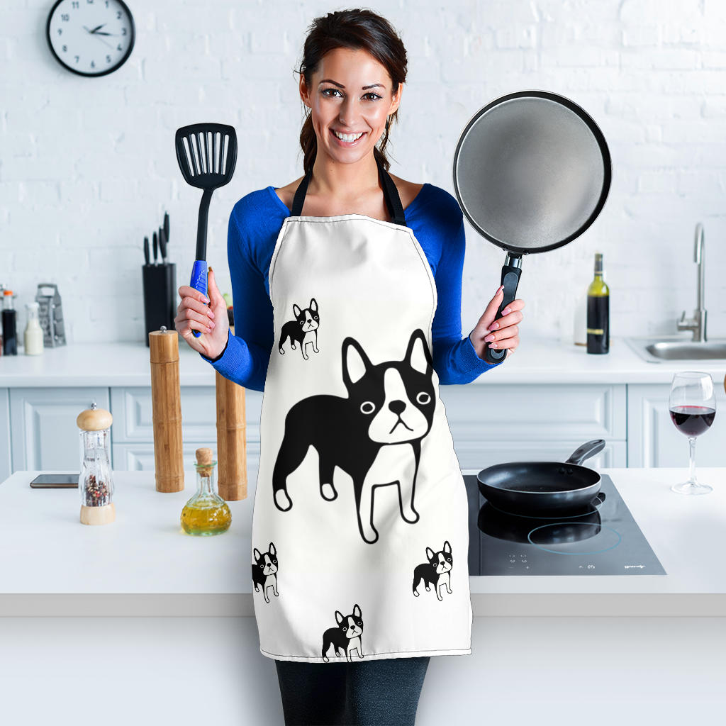 Toon Frenchie - French Bulldog Women Apron - frenchie Shop