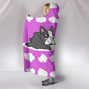French Bulldog Puppy Blanket Hooded