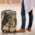 Custom Frenchie Luggage - Frenchie Bulldog Shop