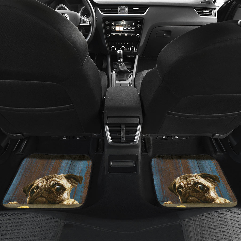 Pugg Auto Floor Mat - Frenchie Bulldog Shop