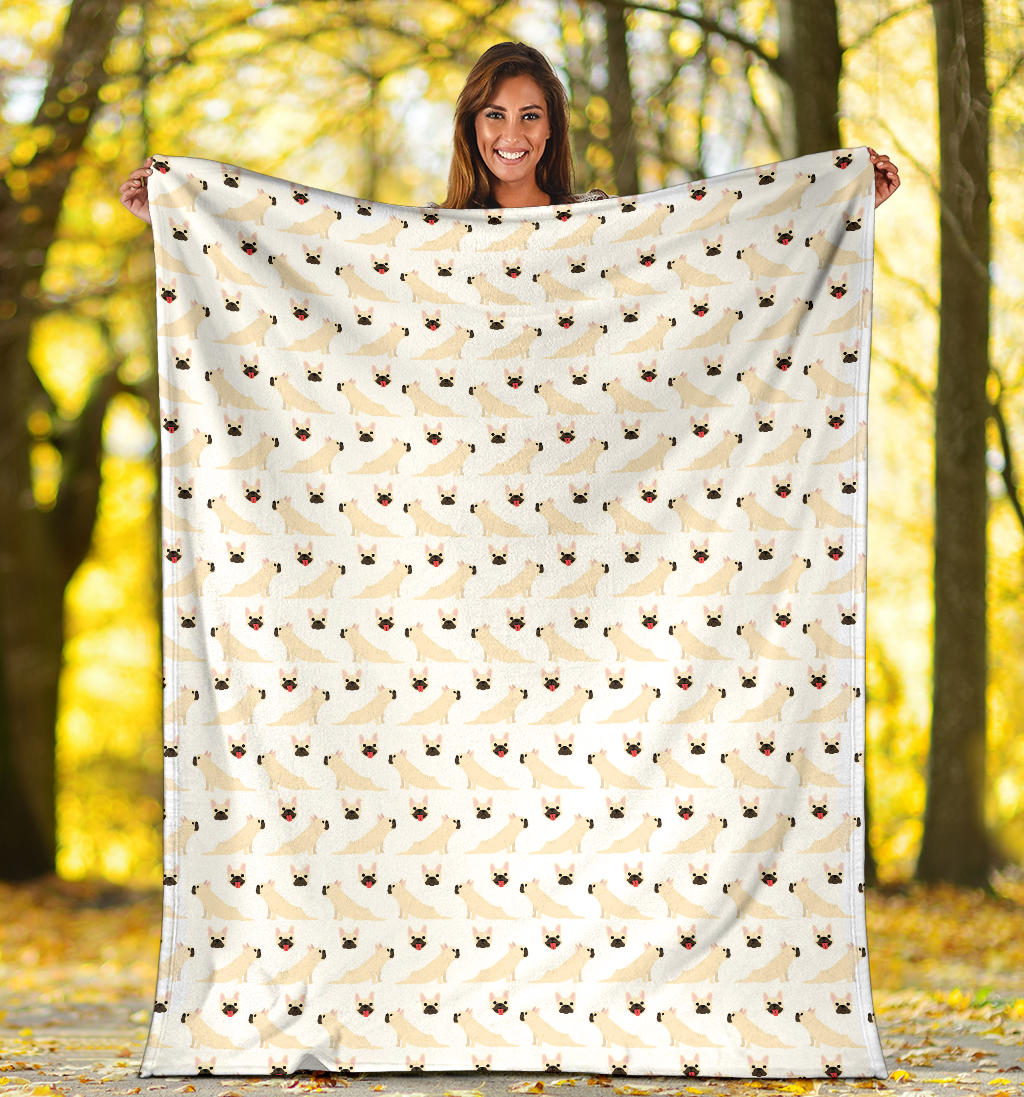 Lulu French Bulldog Blanket - Frenchie Bulldog Shop