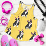 Cute Black Frenchie - French Bulldog Tank Top Women - frenchie Shop
