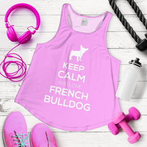 French Bulldog Keep Calm Style