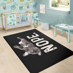 Lazy Black Frenchie - French Bulldog Rug - frenchie Shop