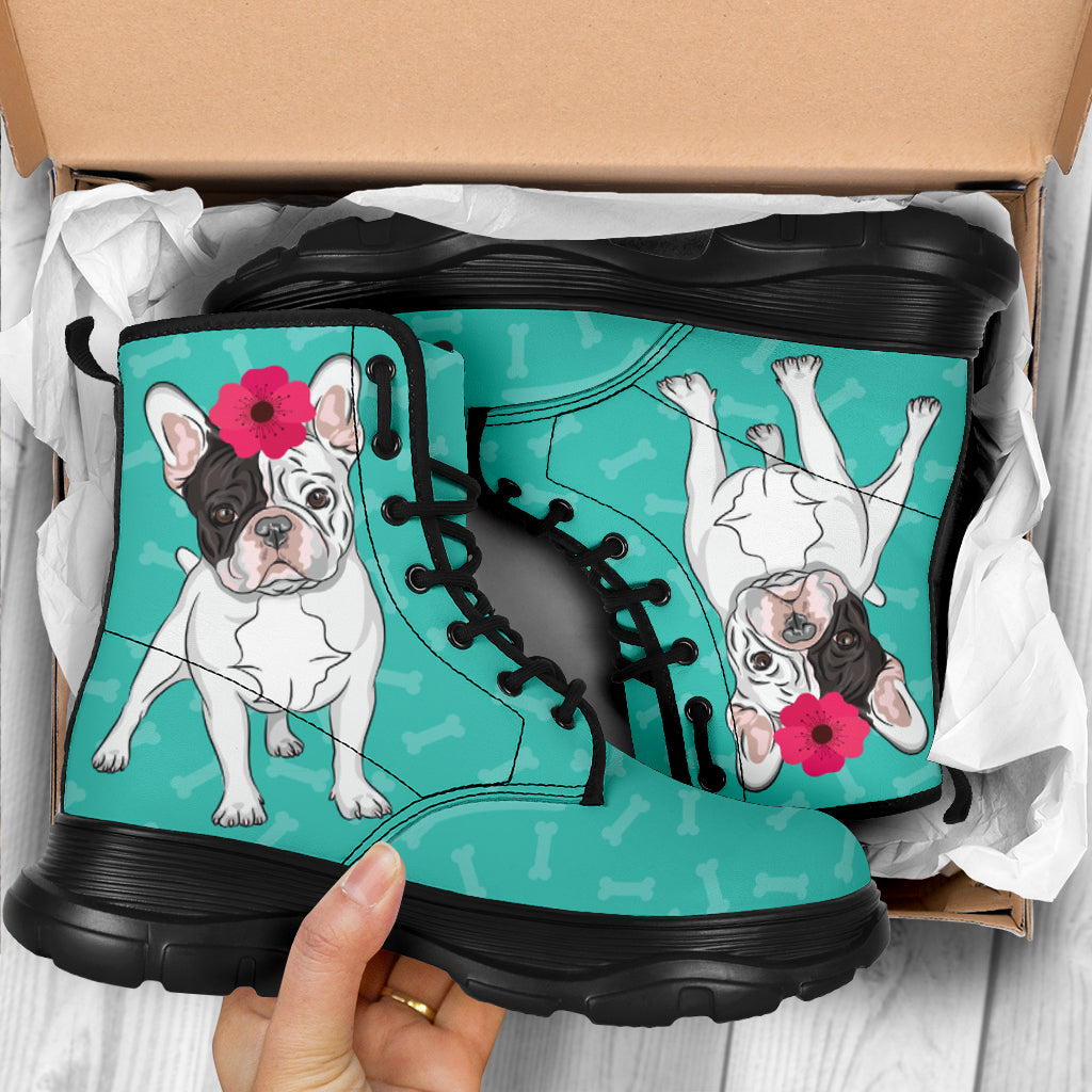 Mary chunky boots - Frenchie Bulldog Shop