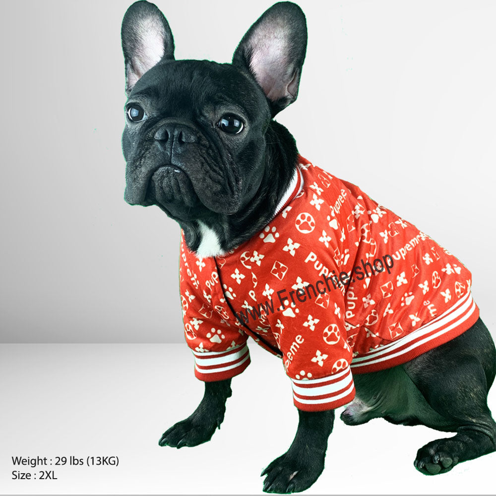 Pupreme French Bulldog Sweater (WS47) - Frenchie Bulldog Shop