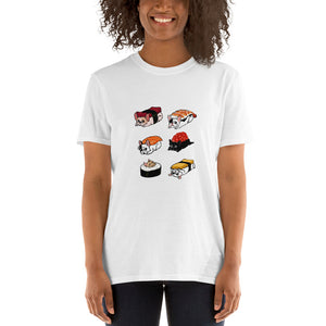 Frenchie Sushi - T-Shirt for men and women - Frenchie Bulldog Shop