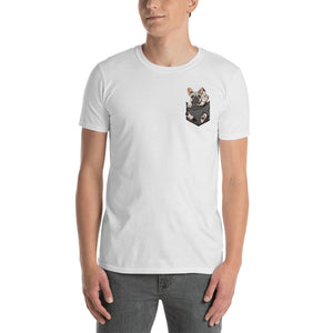 pocket finger - T-Shirt for men and women