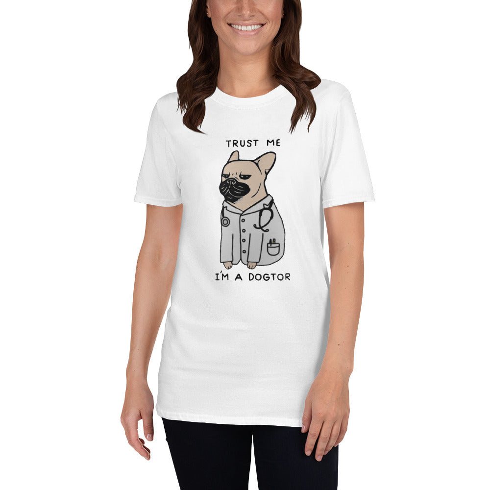 Trust me - T-Shirt for men and women - Frenchie Bulldog Shop