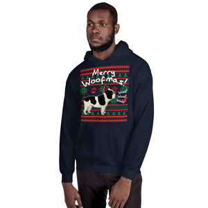 Merry WoofMas - Unisex Hoodie - frenchie Shop