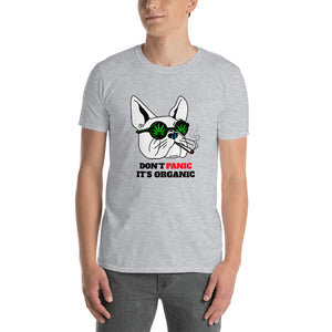 Dont Panic -Short-Sleeve Unisex T-Shirt - Frenchie Bulldog Shop