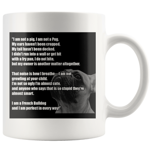 Billy French Bulldog Mug - Frenchie Bulldog Shop