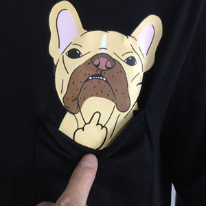 Frenchie Pocket Shit - Real Pocket - Frenchie Bulldog Shop