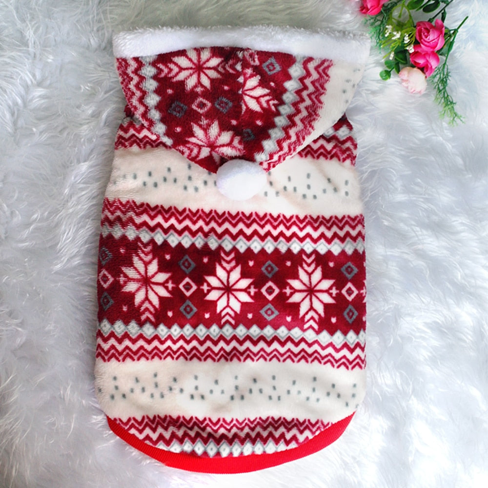 Christmas Winter Costume for French Bulldog - Frenchie Bulldog Shop