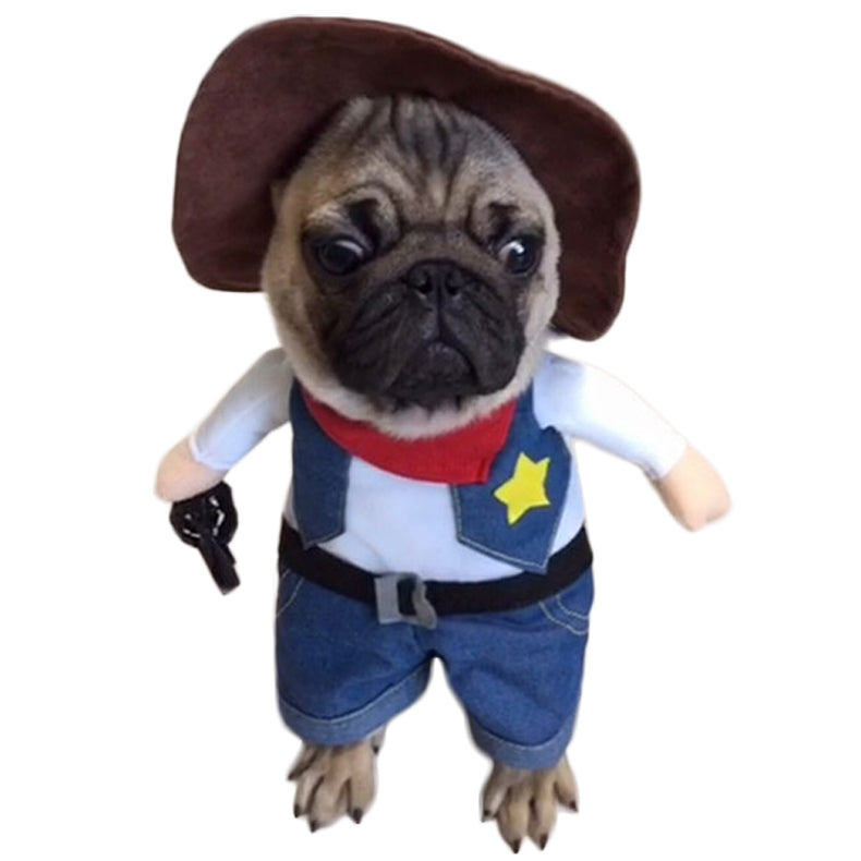 Costume Halloween Cowboy - frenchie Shop